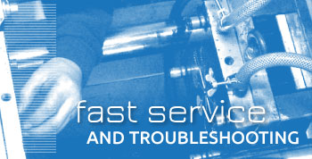 Fast service and troubleshooting
